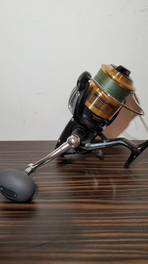 Shimano Baitrunner 8000D Fishing Reel Spooled with Braid for Sale in Fort Lauderdale, FL