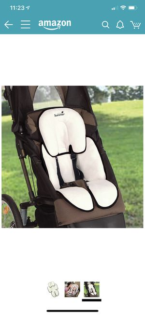 Summer Snuzzler Infant Support for Car Seats and Strollers, Black Velboa for Sale in Kirkland, WA