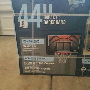 Lifetime Basketball Hoop Impact Backboard for Sale in Chandler, AZ