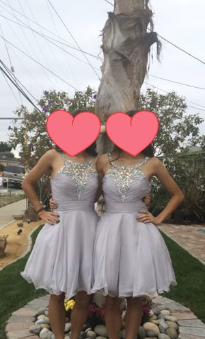 Short Grey Homecoming/Prom dress for Sale in Newark, CA