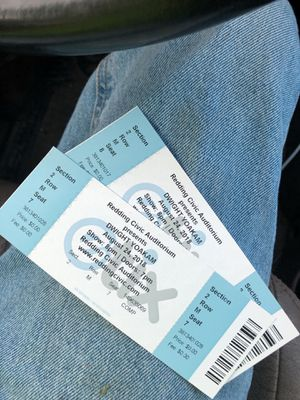 DWIGHT YOAKAM 8/24 for Sale in Oroville, CA