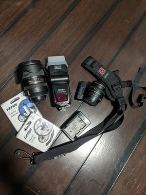 Nikon lenses, flash and more! for Sale in Alameda, CA