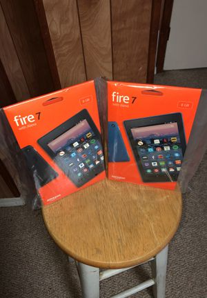 Tablet 7 fire Each one is worth 75. Cada una $75 fijo for Sale in Washington, DC