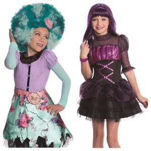 Monster High Honey Swamp & Elissabat Size M (8-10) Costumes for Sale in Concord, MA