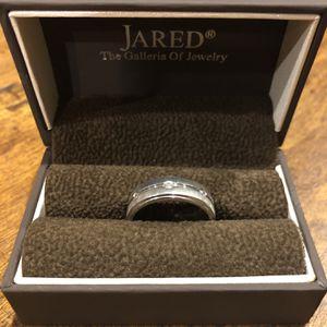 White Gold, Diamond Wedding Ring - Mens for Sale in Sacaton, AZ