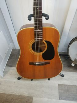 Vintage 1970's Japanese Angelica Acoustic Guitar for Sale in Port Charlotte,  FL