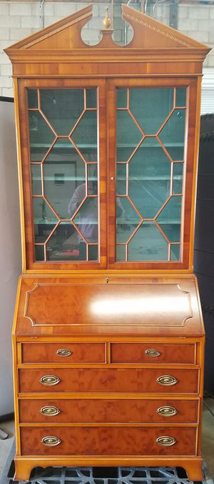 Antique secretary desk and bookcase,Holland Re-firm by Heldrnse for Sale in Phoenix, AZ