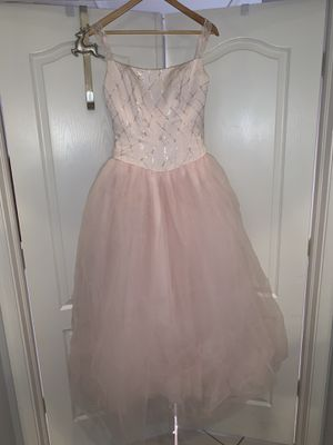 Baby pink quinces dress (sweet 15 dress) size 8 for Sale in Tamarac, FL