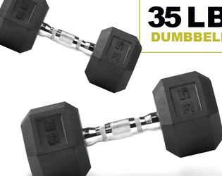 NEW Weider 35lbs Dumbbell weight set (70lbs total) for Sale in San Leandro,  CA