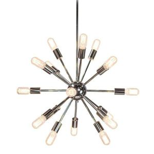 Sputnik 18-Light Polished Nickel Chandelier for Sale in Los Angeles, CA