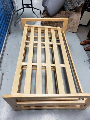 Wood futon for Sale in Manassas, VA
