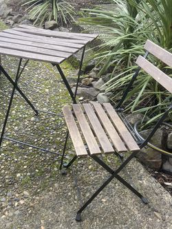 Fold Up Table & Chair for Sale in Boring,  OR