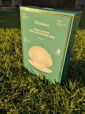 JM solution Face mask 3 Step Marine Luminous Pearl Deep Moisture Mask - 1 Box of 10 Sheets for Sale in Rowland Heights, CA