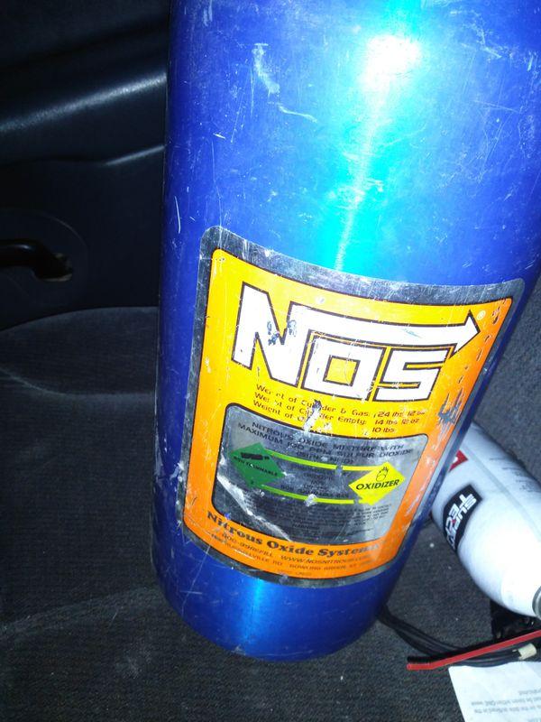 Nos bottle 10 pound