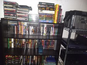 HUGE LOT OF BOOKS/DVD/CD/ps1/ps2/ps3/N64 for Sale in Miramar, FL