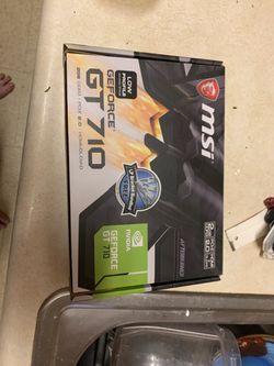 Msi GeForce 710 computer upgrade for Sale in N BELLE VRN,  PA