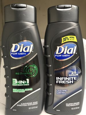 DIAL FOR MEN 3 IN 1 BODY WASH 2-FOR $6 for Sale in Redondo Beach, CA