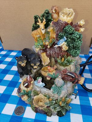Nature and Wild Animal Desk Fountain for Sale in Bonney Lake, WA