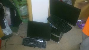 Acer desktop computer. With extra monitor OBO for Sale in Euclid, OH