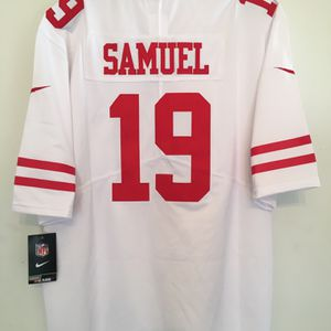 Brand New 49ers Deebo Samuel #19 Football Jersey for Sale in Daly City, CA