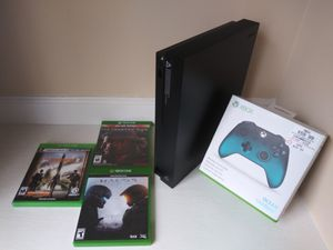 Xbox One X bundle (firm price) for Sale in Norcross, GA