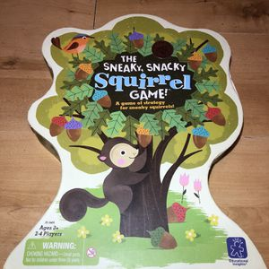 Sneaky, Snacky Squirrel Game (All Pieces Included) for Sale in Burrillville, RI