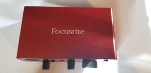 Focusrite Scarlett Solo USB Audio Interface Gen 3 for Sale in Liberty, NC