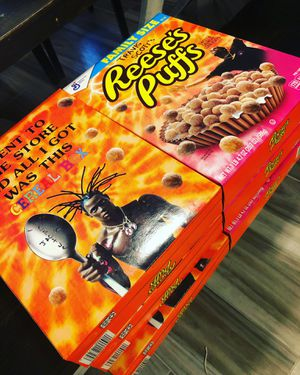 Limited Edition Travis Scott Resses Puffs Cereal for Sale in Houston, TX
