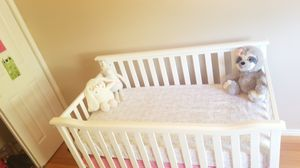 Baby crib. New. Never used mattress included! for Sale in Magna, UT