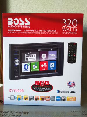 BOSS AUDIO SYSTEMS CAR MEDIA UNIT (BRAND NEW) for Sale in Union Park, FL