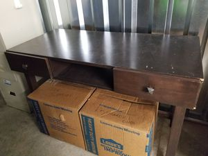 Brown Wood Desk for Sale in Irmo, SC