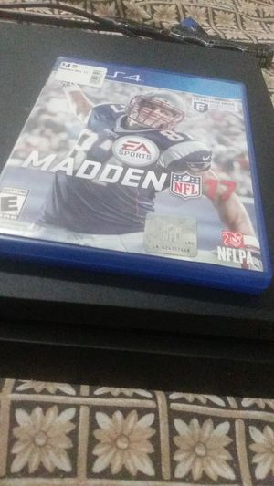 PlayStation4+ Madden17 for Sale in Clearwater, FL