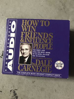 How to Win Friends & Influence People [ Carnegie, Dale ] Audio CD Book for Sale in Murrieta, CA