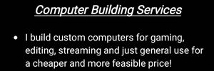 Computer Building Serivces for Sale in Greenwood, IN