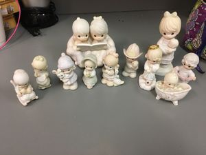 Precious moments figurines and ornament for Sale in Auburndale, FL