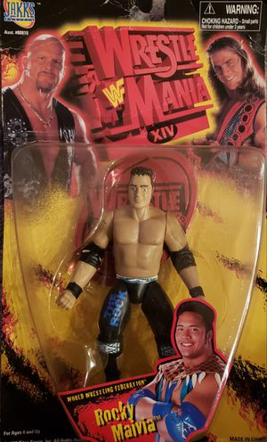 """New WWE Wrestlemania Rocky Maivia """" The Rock"""" Figure for Sale in Orlando, FL"""