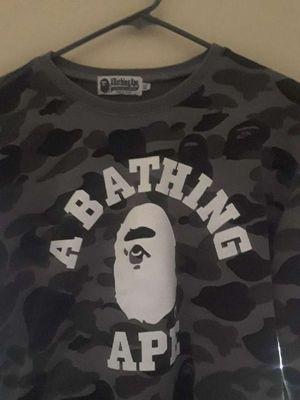 Bape black camo sweater xl for Sale in Tacoma, WA