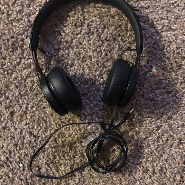 Black Ep Beat Headphones