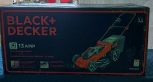 BLACK+DECKER 20 in. 13-Amp Corded Electric Walk Behind Push Lawn Mower for Sale in Tampa, FL