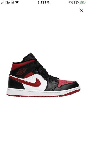 Air Jordan 1 mid Noble red for Sale in Albany, NY