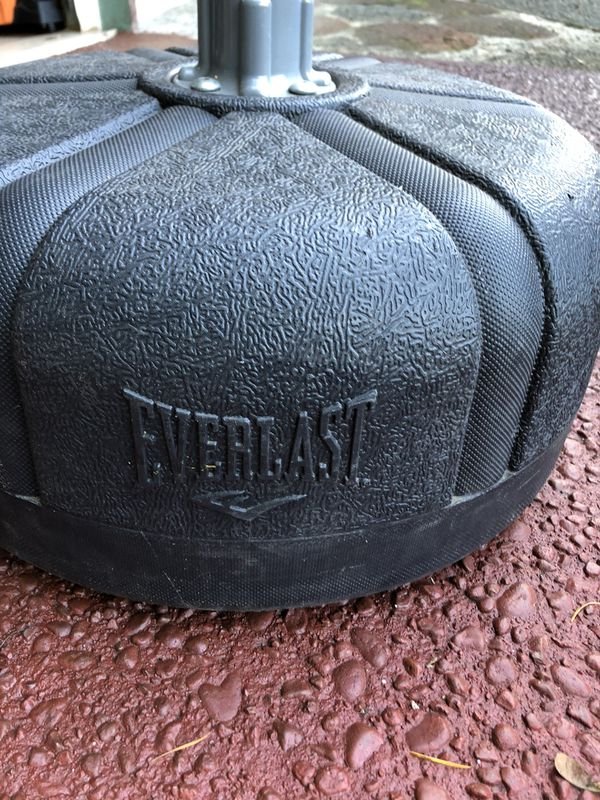 punching bag everlast brand.
