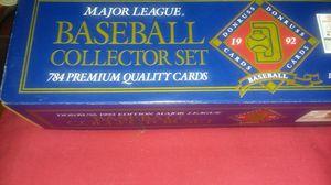 1992 Factory Set Of Donruss Baseball Cards Cal Ripken's Card for Sale in Asheboro, NC