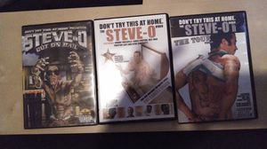 Steve-O DVDS. for Sale in Rancho Cucamonga, CA