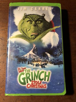 How the Grinch Stole Christmas VHS for Sale in Sacramento, CA