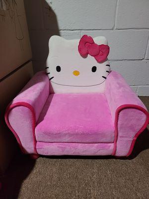 Hello kitty velvet kids chair for Sale in Denville, NJ