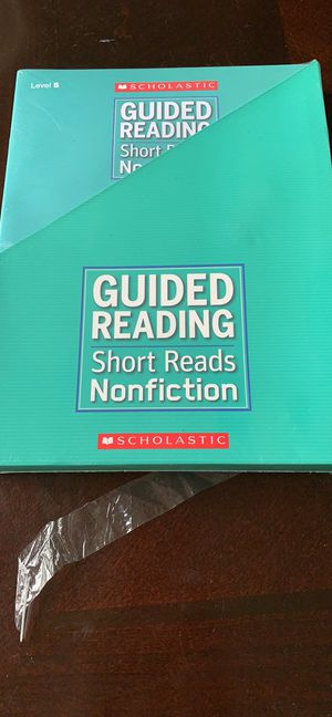 Scholastic guided reading short reads nonfiction Level S 3-4 grade for Sale in Mansfield, TX