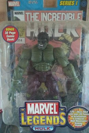 Marvel Legends The Incredible Hulk for Sale in San Antonio, TX