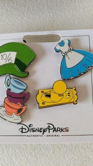 Disney Alice and wonderland pin set 10$ for Sale in Pico Rivera, CA