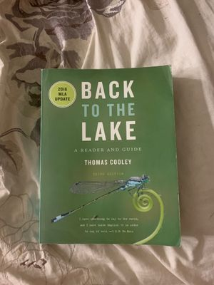 Back to the Lake Third Edition by Thomas Cooley for Sale in Los Angeles, CA