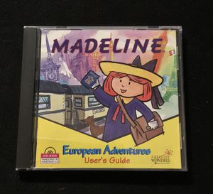 Madeline European Adventures old PC game for Sale in Duluth, GA